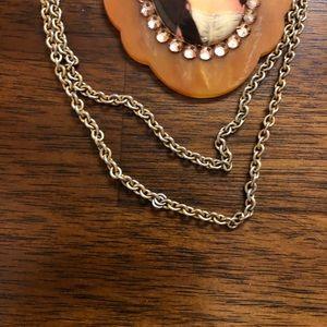 Tarina Tarantino Jewelry - Tarina Tarantino long victorian cameo necklace